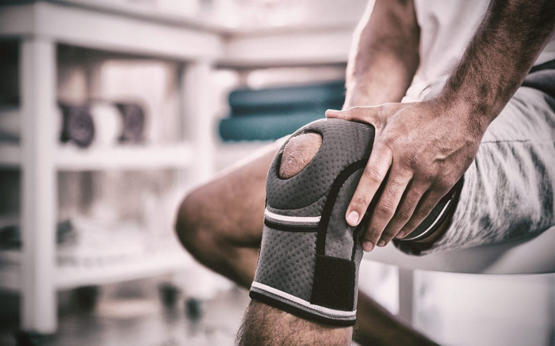 Three step system for relieving knee pain